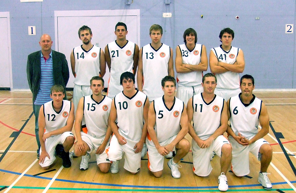 Taunton Tigers Basketball Club � Tigers Mens Team 2007/08