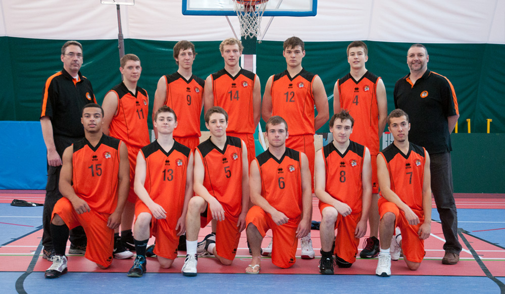 Taunton Tigers Basketball Club � Tigers Under 18 Mens Team 2010/11